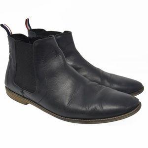 Ben Sherman Leather Boots Men's Sz 13